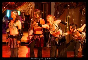Dante's Gypsy Circus at the Keshvar Project Supah Hafla 2010 | belly dance