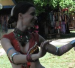 Dante's Gypsy Circus, Megan, tribal fusion belly dancer, stage names for performing artists